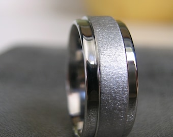 Titanium Ring or Wedding Band Beautiful Custom Style