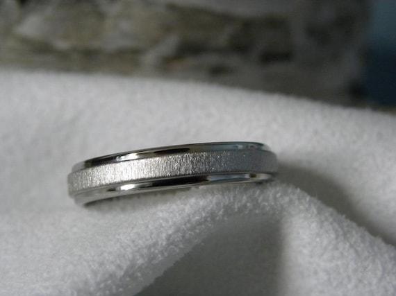 Ring or Wedding Band 4mm Titanium Best Seller