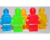 MINI LEGO MEN SOAP FAVORS (50 SOAPS) - BIRTHDAY PARTY OR GIFT