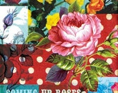 we love roses - A4 fine art print - a Sweet William illustration on archival paper.