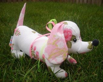 Dachshund Stuffed weiner puppy dog SEWING PATTERN PDF