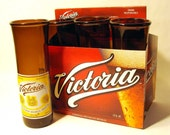 Recycled Victoria beer bottle Drinking Glasses / Eco Friendly / Recycled from discarded bottles