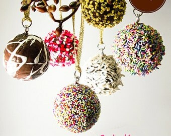 Tutorial - How to Make Chocolate Truffles Ornaments
