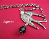 Swallow necklace