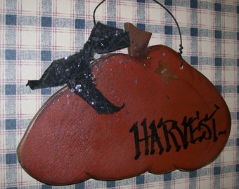 CLEARANCE   Harvest Hanging Pumpkin    WAS 9.95  NOW 6.95