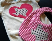 I Love Texas Welcome Baby Gift Set in Pink