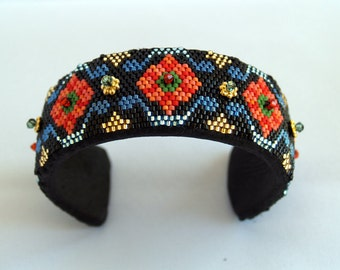 Spanish Border Cuff Bracelet