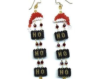 Ho-Ho-Ho Earrings