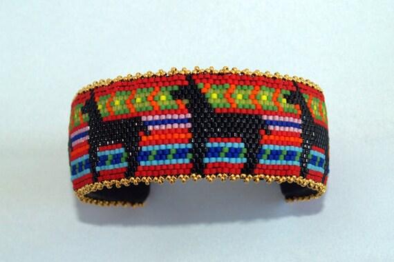Llama Cuff Bracelet
