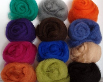 Felting Wool Artist's Palette 2 - Free Shipping