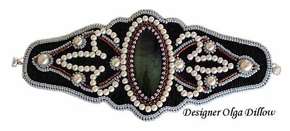 Embroidery Bracelet Cuff Franzia