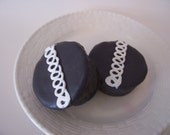 Squiggly Iced Chocolate Cupcake Kids\/Childrens Goats Milk Soap
