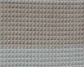 RESERVED FOR SewnNaturals--2 yards ORGANIC cotton FABRIC (Natural and Colorgrown Brown Honeycomb Stripes)