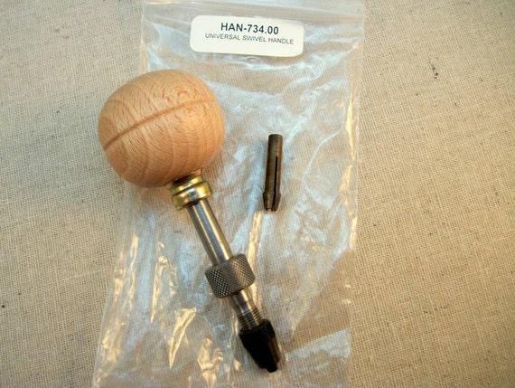 Universal Swivel Handle With Chuck  - Jeweler's Tool - Reamer Hand-drill