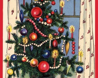 A Happy Christmas Refridgerator Magnet