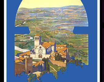 Assisi Italy Refrigerator Magnet