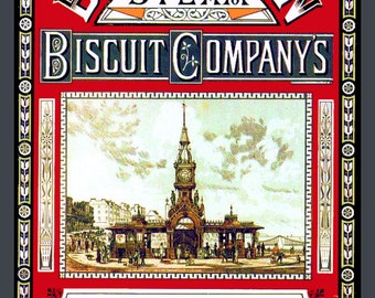 Brighton Biscuits  Refrigerator Magnet - Free US SHIPPING