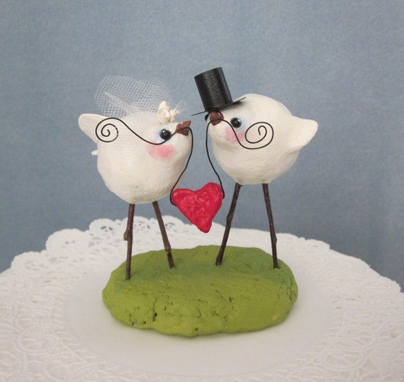 wedding cake decorations birds bird wedding cake topper 22399