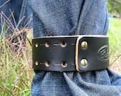 Leather Pant Cuff-BIKE