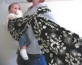 SALE 5.00 OFF - Moonlight Blooms Ring Sling - FREE US SHIPPING