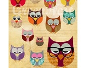 NEW A3  size: Be different - collage poster print