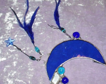 Stained Glass Moon Magickal Dreams