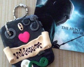 I Love Voldemort, Harry Potter Character By JK Rowling - Polymer Clay Charm or Pendant