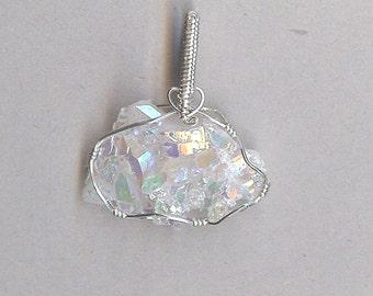 4178 Angel Aura Quartz Pendant