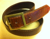 Simple Leather Belt hand made