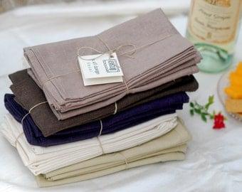 Hemp Cloth Napkins