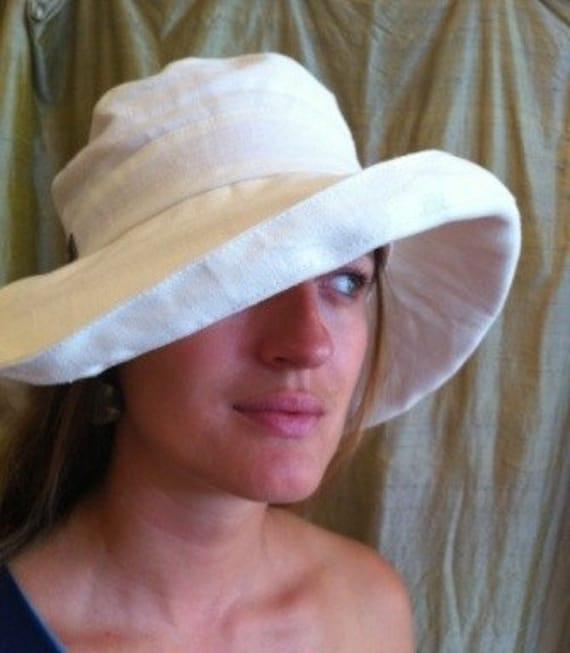 Wide Brim Hemp Sun Hat