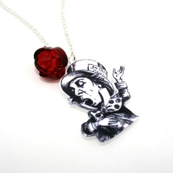 sale mad hatter necklace in necklace