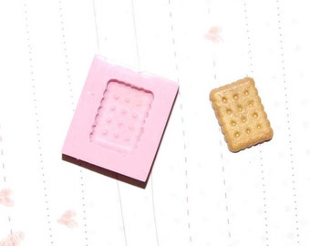 Cookie Mold/Mould3 for Resin, Polymer clay, Air dry Clay, etc. 1,5 cm x 1,1 cm
