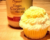 Cupcake Soap Lemony Coconut Sweet Cream