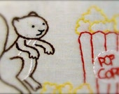 Trio of Squirrelys PDF Embroidery Patterns