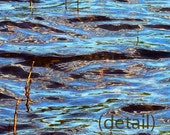 SALE Abstract Water Composition 3, digitally altered art photo, 8x10