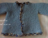 Felted Baby Jacket 0-3 months from Designs by Fredericka