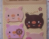 Piggie and Donuts Sticky Notes