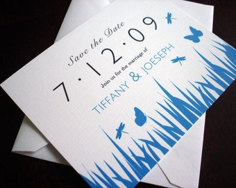 35 Butterfly Save the Date cards for katiedade1