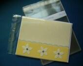 1000 A2 - 4.6 x 5.75 Clear Resealable Cello Bag Plastic Envelopes Cellophane Bag Sleeves