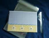 100 A7 - 5.4 x 7.25 (for 5x7) Clear Resealable Cello Bag Plastic Envelopes Cellophane Bag