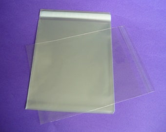 25 13.4 x 17.2 (13x17) Clear Resealable Cello Plastic Envelopes/Bags
