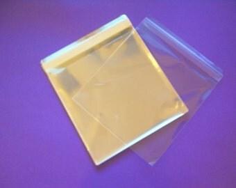 300 12.5 x 12.5 (12x12) Clear Resealable Cello Bag Plastic Envelopes Cellophane Bag Scrapbook