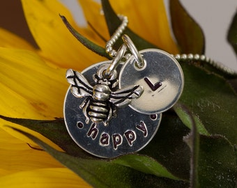 Bee Happy with initial