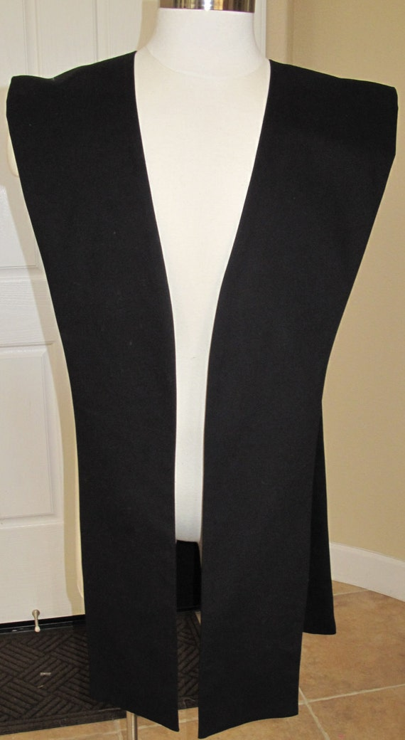 Cosplay Black fabric tabards in several sizes