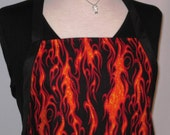 Flames BBQ Reversible Full Apron