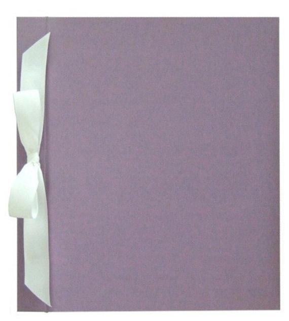 Modern Baby Memory Book - ELLA (lavender)