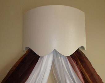 Curved Bed Crown / Cornice / Valance