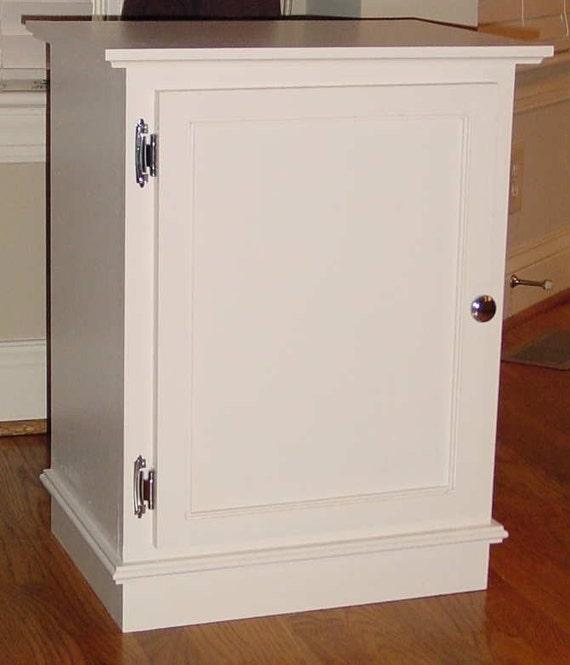 Cat Litter Box Cabinet W Shelf