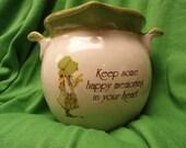 Vintage Holly Hobbie Drippings Pot